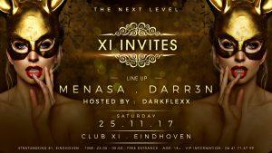 25.11.2017 :: XI Invites : Menasa